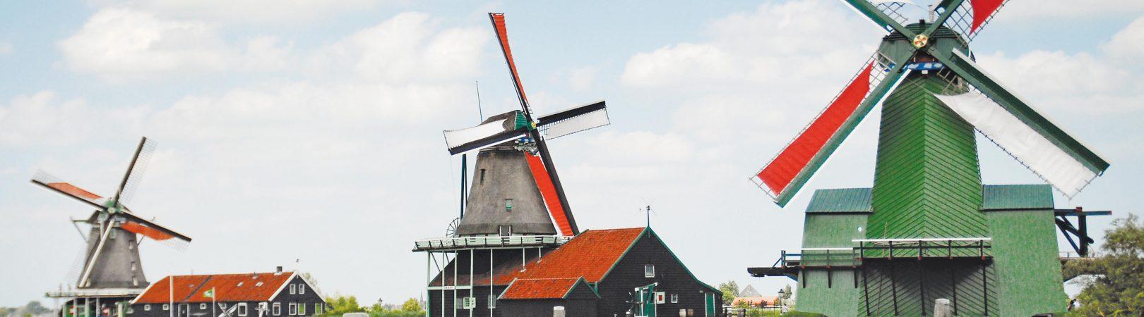 Holanda – Castelos, Museus e  Moinhos